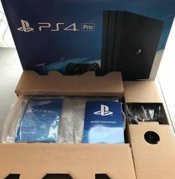 Sony ps4 pro game console