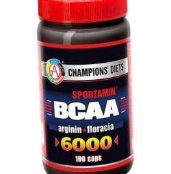 Aminoacizi BCAA 6000 SPORTAMIN 180 capsule