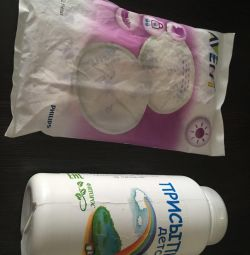 Breast Powder and Pads