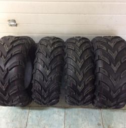 Tires for the CST r25 ATV new