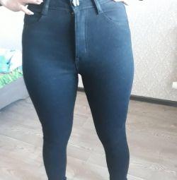 джинси теплі