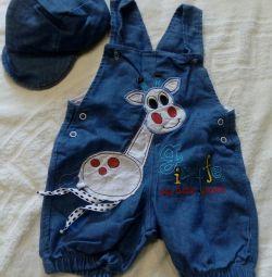 Children's overalls.