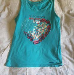 Kızların büyümesi için tişört 146