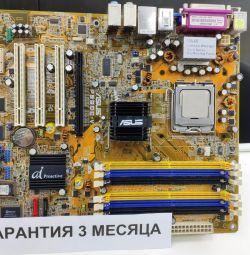 Placa de baza Asus P5GDC-V + Intel 775