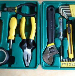 Набір інструменту в пластмасовому кейсі 26 шт FIT