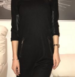 Платье из шерсти Burberry