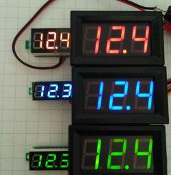 Voltmeter, voltammeter