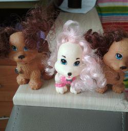 Σκυλιά για κούκλες Barbie