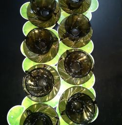 Чашки з блюдцями 160мл