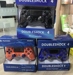 Joystick-ul PS4 analogic nou.