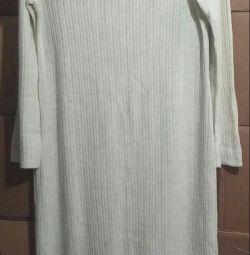 Πλεκτό φόρεμα φόρεμα φόρεμα 52 μέγεθος