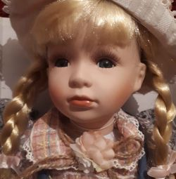 15821 Doll collection Annette, porcelain 51 cm