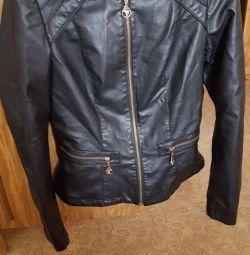 Кожаная куртка Aosha XL