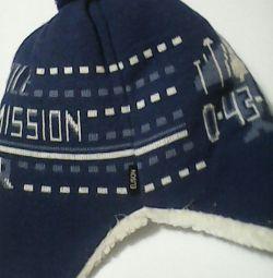 Зимняя шапка+шарф.