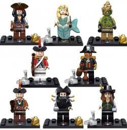Lego μικρογραφίες Πειρατές της Καραϊβικής.