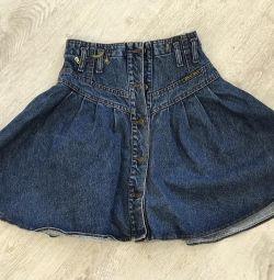 Юбка джинс