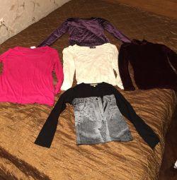 Μπλούζες / μπλούζες / μπλούζες μακρύ μανίκι, λύση 44