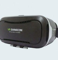 Γυαλιά εικονικής πραγματικότητας VR Shinecon + gamepad