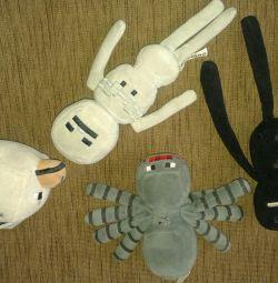 Αράχνη, σκελετός