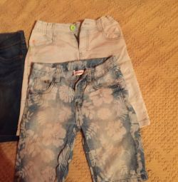 Shorts jeans for children