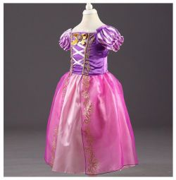 Dress Rapunzel from 2 to 4 years