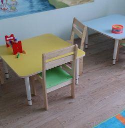 столы и стулья для детского сада