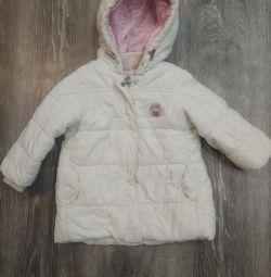 Μπουφάν για το κορίτσι το χειμώνα 18-24