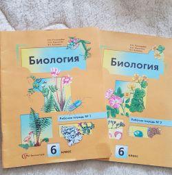 Biology workbooks 2 parts