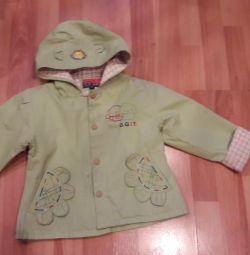 Куртка-ветровка детская