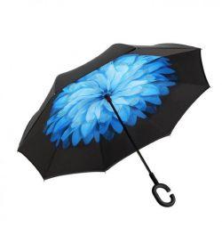 Umbrelă rezistentă la vânt cu flori Up-brella