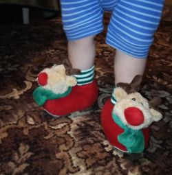 New Year's slippers