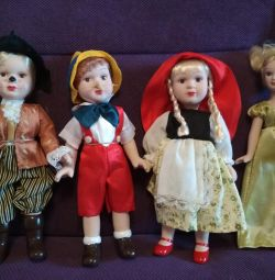 Pinocchio, Little Red Riding Hood, Snow White, Puss in Boots
