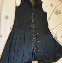 Gulliver okul gelişimi için elbise 140