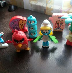 Burgerking figurines