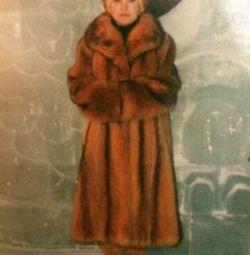 Palton cu blană