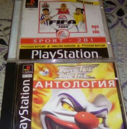 Disc for Sony Playstation 1