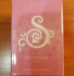 Туалетная вода Avon Secret Attitude Star 50 мл