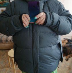 Men's oversized down jacket 64-66