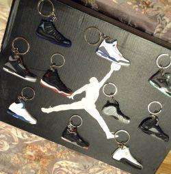 Nike Air Jordan Nike aer Jordan originală cheie keychain!