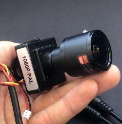 Varifocal miniature camera 2mPx 2.8-12mm