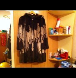 Mink fur coat 48-50