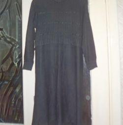 Dress knitted black
