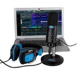 Конденсаторный студийный микрофон USB Alctron CU58