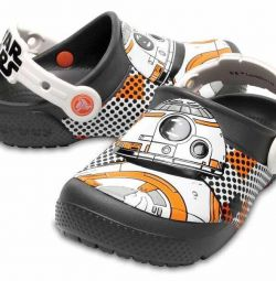 Новые Кроксы (crocs) J1 (Star Wars)