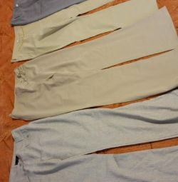 Женские летние брюки все вместе