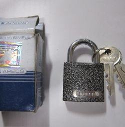 lock new hinged 3 x 3 cm