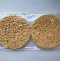 Two new sponges for washing