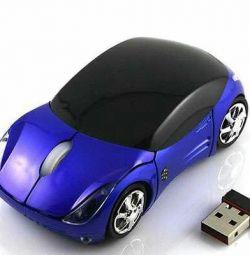Ασύρματο ποντίκι με τη μορφή αυτοκινήτων