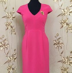 Fuchsia color dress, р, 44
