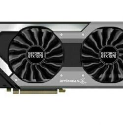 Placă video Palit PCI-E PA-GTX1070 JETSTREAM 8G NV